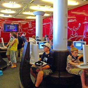 Интернет-кафе Васильевского Моха