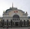 Железнодорожные вокзалы в Васильевском Мхе