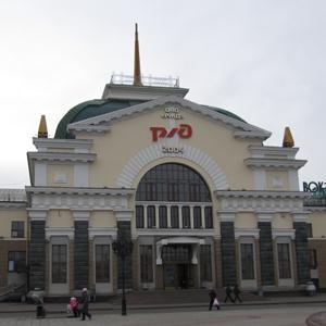 Железнодорожные вокзалы Васильевского Моха